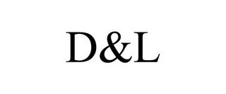mark for D&L, trademark #85491809