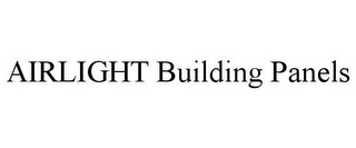 mark for AIRLIGHT BUILDING PANELS, trademark #85492032