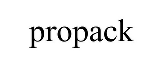 mark for PROPACK, trademark #85492488