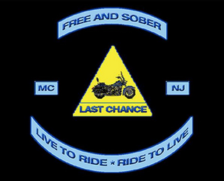 mark for FREE AND SOBER LAST CHANCE LIVE TO RIDE * RIDE TO LIVE MC NJ, trademark #85492491