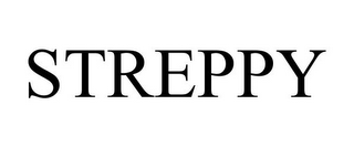 mark for STREPPY, trademark #85493037
