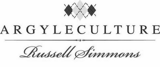 mark for ARGYLECULTURE RUSSELL SIMMONS, trademark #85493179