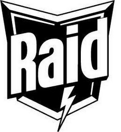 mark for RAID, trademark #85493391