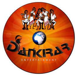 mark for DANKIRAR ENTERTAINMENT, trademark #85493483