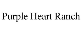 mark for PURPLE HEART RANCH, trademark #85494035