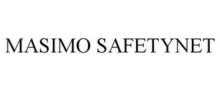 mark for MASIMO SAFETYNET, trademark #85494548