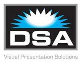 mark for DSA VISUAL PRESENTATION SOLUTIONS, trademark #85494670