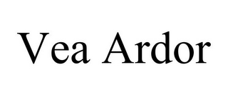 mark for VEA ARDOR, trademark #85494769