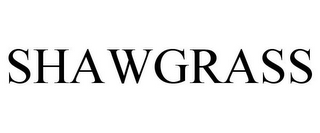 mark for SHAWGRASS, trademark #85494840
