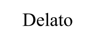 mark for DELATO, trademark #85494938
