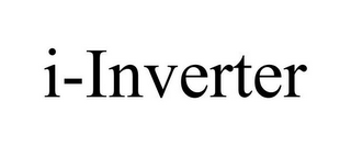 mark for I-INVERTER, trademark #85495271