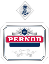 mark for ABSINTHE SUPERIEURE MAISON FONDEE EN 1805 PARIS FRANCE PERNOD PERNOD FILS LONDON PARIS NEW YORK SYDNEY TOKYO, trademark #85495391