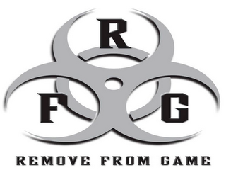mark for RFG REMOVE FROM GAME, trademark #85495614