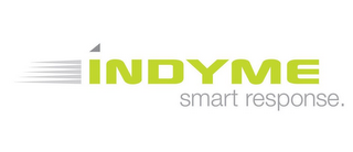 mark for INDYME SMART RESPONSE., trademark #85495950