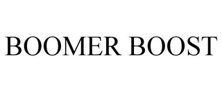 mark for BOOMER BOOST, trademark #85496104