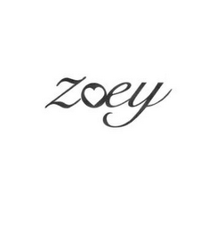 mark for ZOEY, trademark #85496662