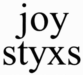 mark for JOYSTYXS, trademark #85497217