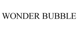 mark for WONDER BUBBLE, trademark #85497439