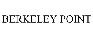 mark for BERKELEY POINT, trademark #85498096