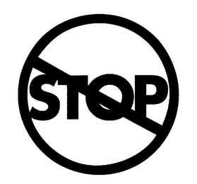 mark for STOP, trademark #85498190