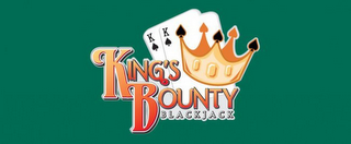 mark for KING'S BOUNTY BLACKJACK, trademark #85498192