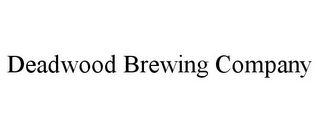mark for DEADWOOD BREWING COMPANY, trademark #85498199