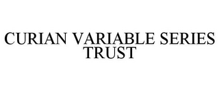mark for CURIAN VARIABLE SERIES TRUST, trademark #85498501