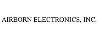 mark for AIRBORN ELECTRONICS, INC., trademark #85498590
