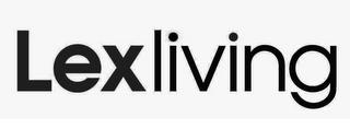 mark for LEXLIVING, trademark #85498617
