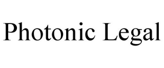 mark for PHOTONIC LEGAL, trademark #85498811