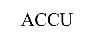 mark for ACCU, trademark #85499517