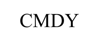 mark for CMDY, trademark #85499560