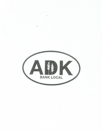 mark for ADK BANK LOCAL, trademark #85499596