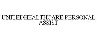 mark for UNITEDHEALTHCARE PERSONAL ASSIST, trademark #85499764