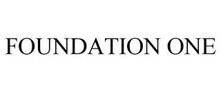 mark for FOUNDATION ONE, trademark #85499818