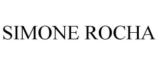 mark for SIMONE ROCHA, trademark #85500287
