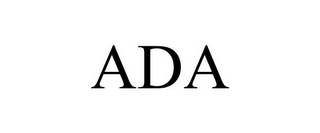 mark for ADA, trademark #85500472
