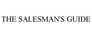 mark for THE SALESMAN'S GUIDE, trademark #85500527