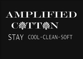 mark for AMPLIFIED COTTON STAY COOL-CLEAN-SOFT, trademark #85500550