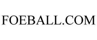 mark for FOEBALL.COM, trademark #85500577