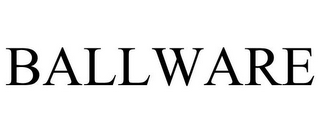 mark for BALLWARE, trademark #85500605