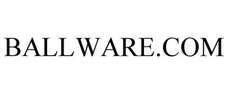 mark for BALLWARE.COM, trademark #85500626