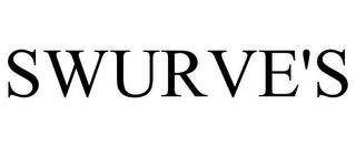 mark for SWURVE'S, trademark #85500629