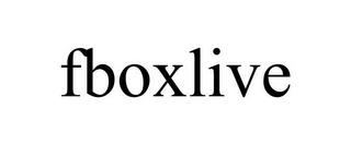 mark for FBOXLIVE, trademark #85500636