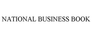 mark for NATIONAL BUSINESS BOOK, trademark #85500733