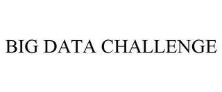 mark for BIG DATA CHALLENGE, trademark #85500838
