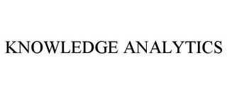 mark for KNOWLEDGE ANALYTICS, trademark #85501173