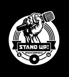 mark for STAND UP! RECORDS S U, trademark #85501488