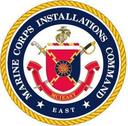 mark for MARINE CORPS INSTALLATIONS COMMAND MCI EAST SEMPER FIDELIS, trademark #85501859