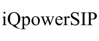 mark for IQPOWERSIP, trademark #85502799